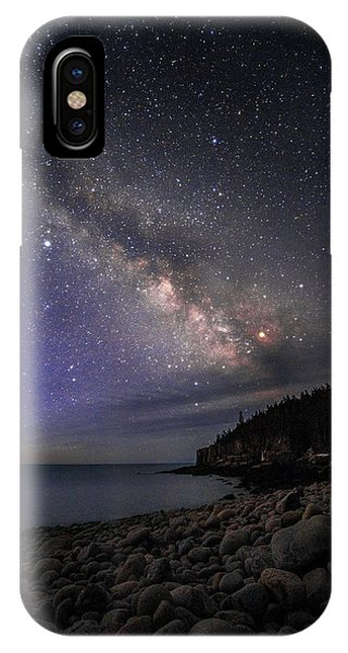 Milky Way Over Boulder Beach IPhone Case