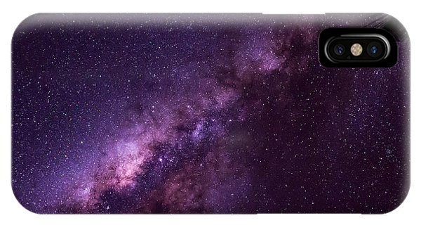Milky Way Over Mission Beach IPhone Case