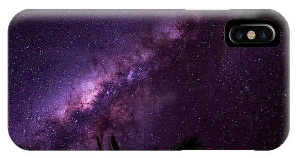 Milky Way Over Mission Beach Narrow IPhone Case