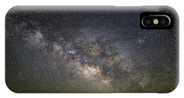 Milky Way Over Monument Valley IPhone Case