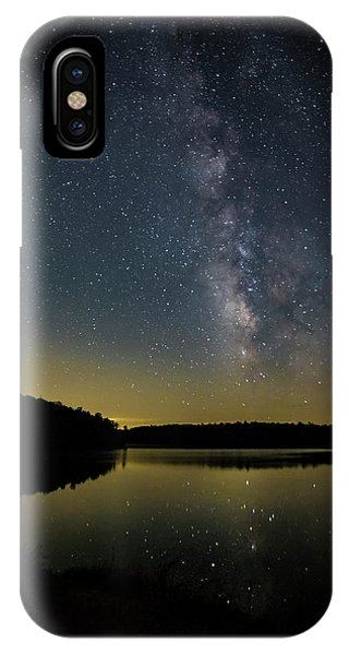Milky Way Over Price Lake IPhone Case