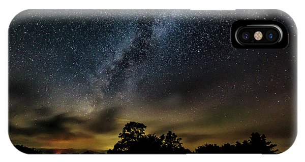 Milky Way Over The Blue Ridge IPhone Case