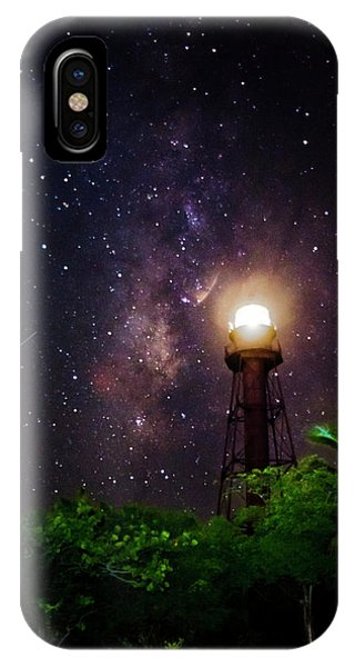 Milky Way Over The Sanibel Lighthouse IPhone Case