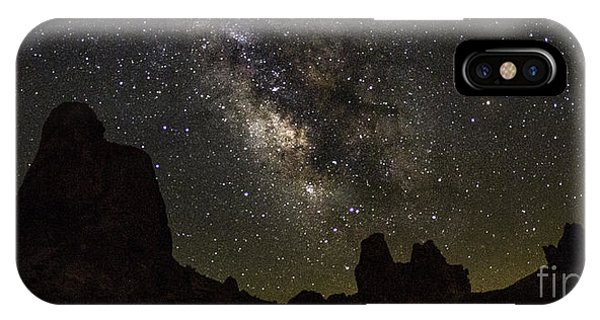 Milky Way Over Trona Pinnacles IPhone Case