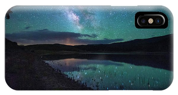 Milky Way Reflections IPhone Case