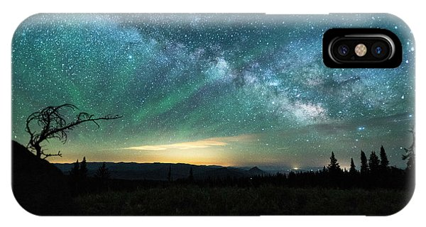 Milky Way Rising IPhone Case