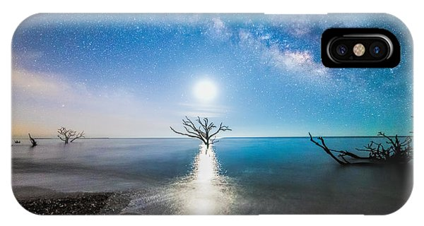 Milky Way Shore IPhone Case
