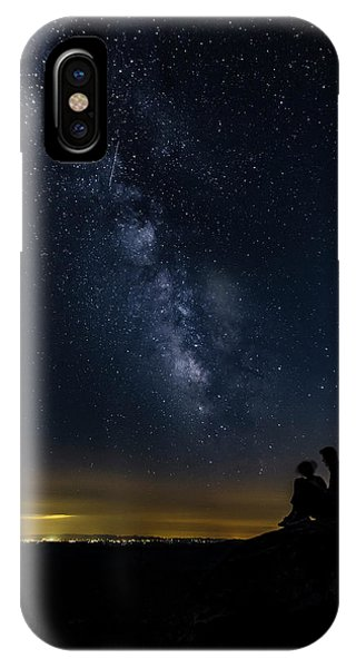 Milky Way Viewed From Rough Ridge IPhone Case