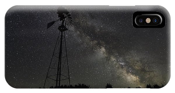 Michael iPhone Case - Milky Way Windmill  by Michael Ver Sprill