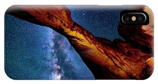 Milkyway At Arches IPhone Case
