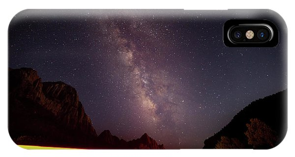 Milkyway Over The Higway IPhone Case