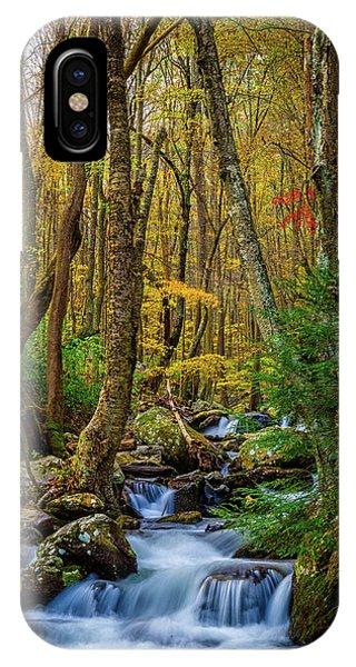 Mill Creek In Fall #1 IPhone Case