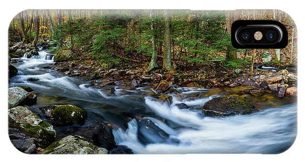 Mill Creek In Fall #2 IPhone Case
