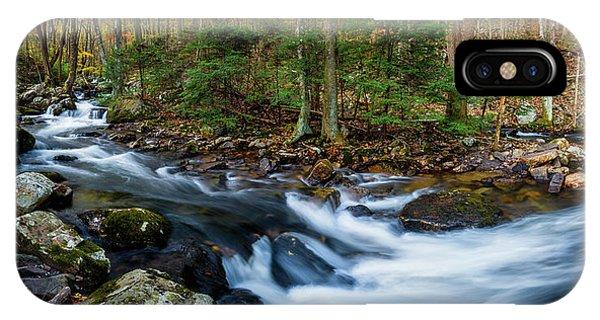 Mill Creek In Fall #2 IPhone Case