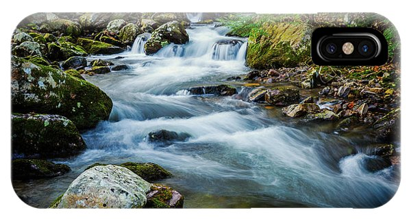 Mill Creek In Fall #3 IPhone Case