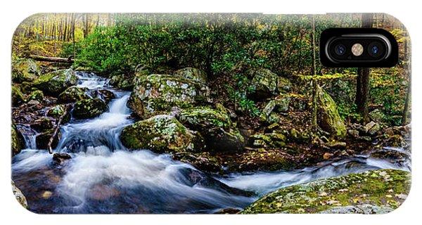 Mill Creek In Fall #4 IPhone Case