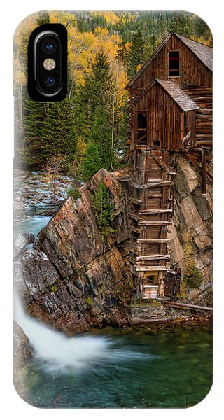 Mill In The Mountains IPhone Case