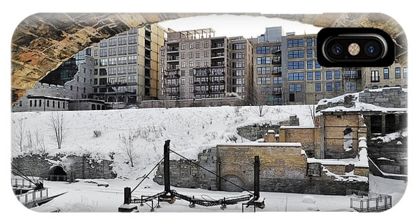 Mill Ruins Park Winter IPhone Case