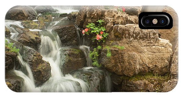 Mill Wheel With Waterfall IPhone Case