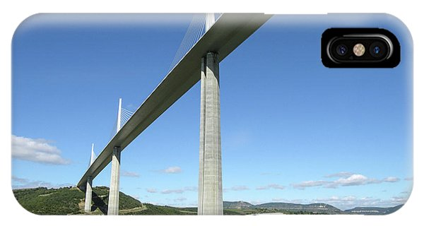 IPhone Case featuring the photograph Millau Viaduct by Jim Mathis