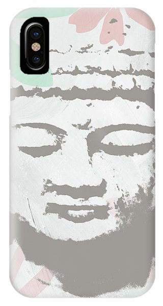 Pink iPhone Case - Millennial Buddha- Art By Linda Woods by Linda Woods