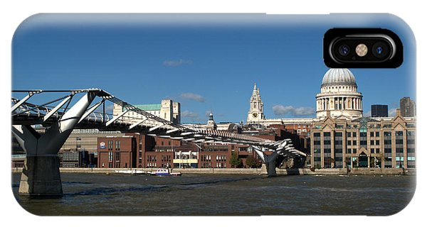 iPhone Case - Millennium Bridge And St Pauls by Chris Day