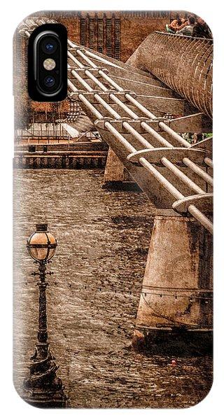 London, England - Millennium Bridge IPhone Case