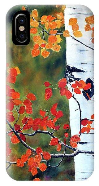 Million Aspen Leaves II IPhone Case