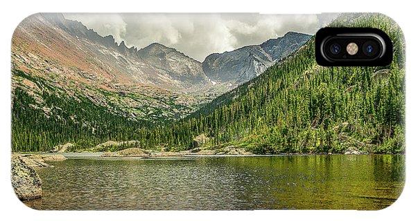 Mills Lake 2 IPhone Case