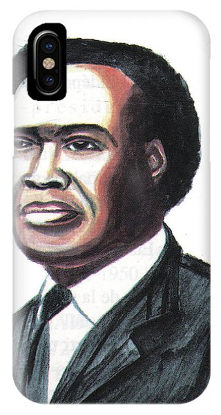 Milton Apolo Obote IPhone Case