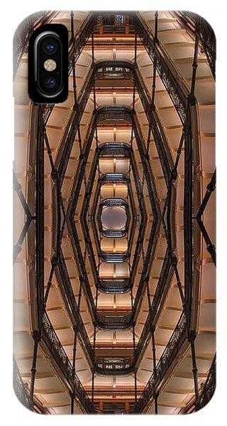 Indoors iPhone Case - Milwaukee City Halll Atrium by Scott Norris