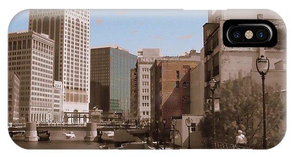 Milwaukee Riverwalk IPhone Case