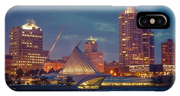 Milwaukee Skyline At Dark IPhone Case