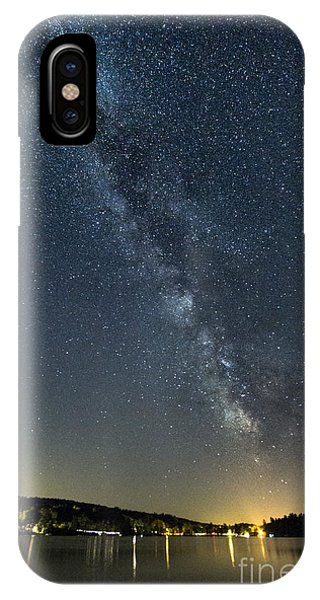 Milky Way From A Pontoon Boat IPhone Case