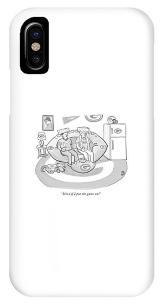 Mind If I Put The Game On IPhone Case