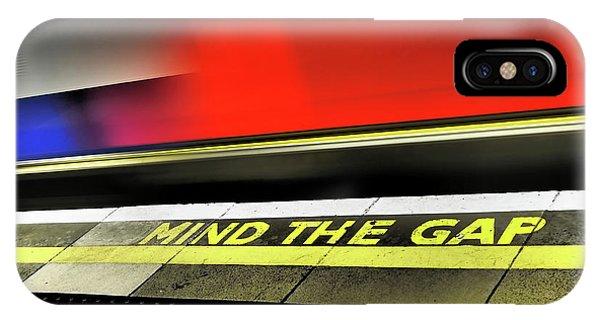 Mind The Gap IPhone Case