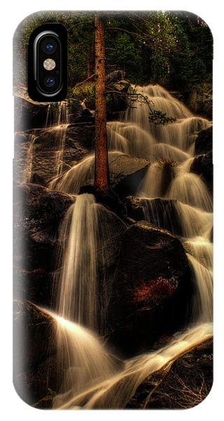 Quaking Aspen Falls Along Tioga Pass  IPhone Case