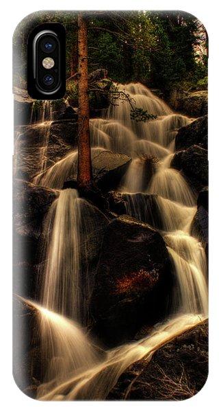 Quaking Aspen Falls Along Tioga Pass  IPhone Case