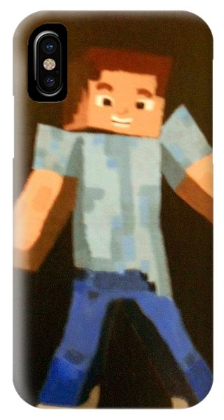Minecraft Steve IPhone Case