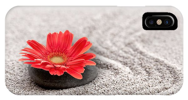 Mineral Flower IPhone Case
