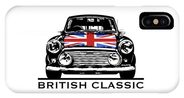 Mini British Classic IPhone Case