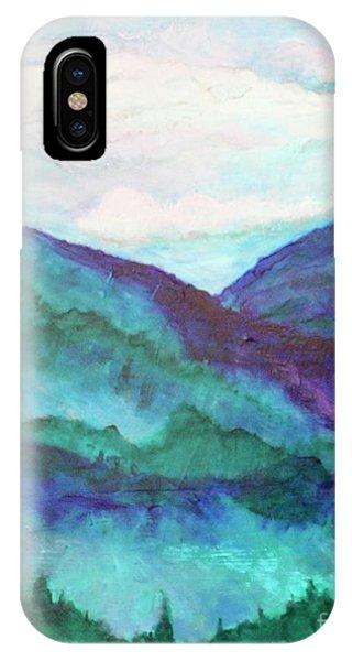 Mini Mountains Majesty IPhone Case