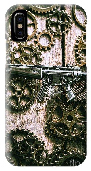 Working iPhone Case - Miniature Mp5 Submachine Gun by Jorgo Photography - Wall Art Gallery