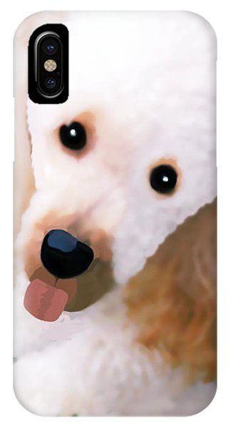 Miniature Poodle Albie IPhone Case