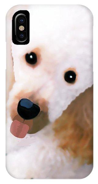 Miniature Poodle Albie IPhone Case