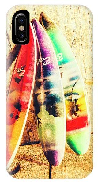 Miniature Surfboard Decorations IPhone Case