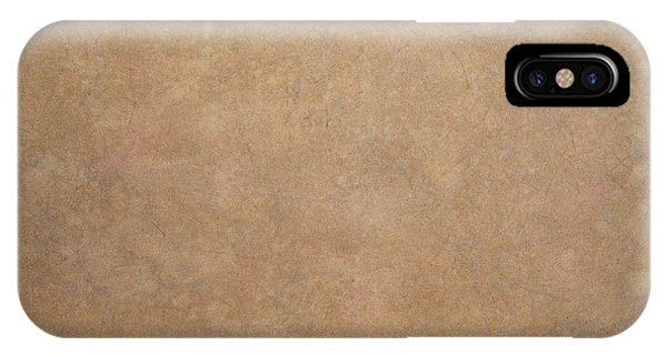 Tan iPhone Case - Minimal 2 by James W Johnson