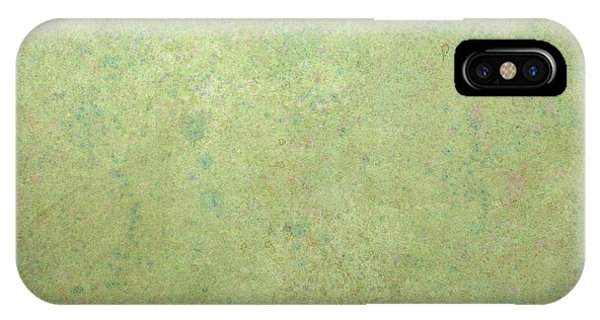 Green Fields iPhone Case - Minimal Number 1 by James W Johnson