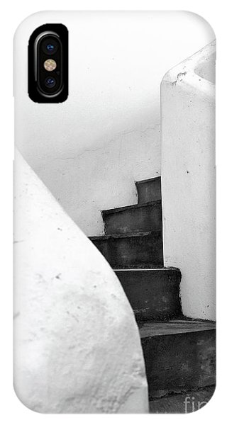 Staircase iPhone Case - Minimal Staircase by PrintsProject