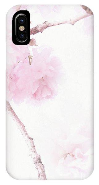 Minimalist Cherry Blossoms IPhone Case